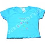 เสื้อ สีฟ้า ลาย Butterfly 4T