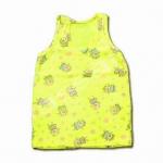 เสื้อ สีเหลือง ลายหมู 4T