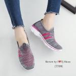 รองเท้าผ้าใบเพื่อสุขภาพ STYLE SKECER ดีไซน์สไตล์แบรนด์ สวมใส่ง่าย พื้นยางอย่างดี น้ำหนักเบ๊าเบาใส่นิ้มนิ่ม เดินนุ่มสบาย ใส่ชิวๆ เกร๋ฝุดๆ ใครที่ กำลังรองเท้าดีๆ รุ่นนี้เหมาะมาก งานดีคุณภาพดี พื้นหนา 1 นิ้ว