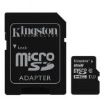 Raspberry Pi Kingston Micro SD Class 10 - 8GB