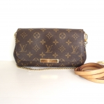 (SOLDOUT)LOUIS VUITTON monogram canvas favourite pm
