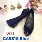 รองเท้าคัทชู ส้นเตารีด แต่งโบว์ประดับคลิสตัลสวยหรู ทรงสวย หนังนิ่ม ใส่สบาย ส้นสูงประมาณ 1 นิ้ว แมทสวยได้ทุกชุด (CA9818)