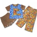 ชุดเด็ก สีน้ำเงิน-น้ำตาล ลาย Scooby Doo 4T