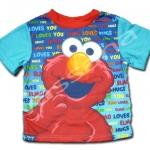 เสื้อ สีน้ำเงิน-ฟ้า ลาย Sesame Street 18M