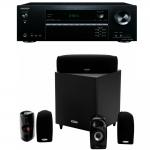 Onkyo TX-NR474 + Polk audio TL1600