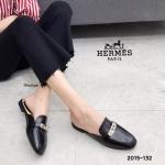 รองเท้าคัทชู เปิดส้น แต่งอะไหล่เรียบหรูดูดี ทรงสวย หนังนิ่ม ใส่สบาย แมทสวยได้ทุกชุด (2015-132)