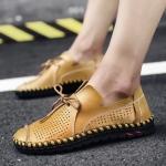 พรีออเดอร์ รองเท้า เบอร์ 38 - 50 แฟชั่นเกาหลีสำหรับผู้ชายไซส์ใหญ่ เก๋ เท่ห์ - Preorder Large Size Men Korean Hitz Sandal