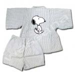 ชุดจิมเบอิ สีเทา ลาย Snoopy S100