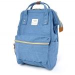 กระเป๋าเป้ Anello Denim blue (Mini)