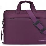 Classic notebook bag double shockproof กันกระแทก 2 ชั้น (สีม่วง)