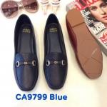 รองเท้าคัทชู ส้นแบน แต่งอะไหล่สวยเรียบเก๋ ทรงสวย หนังนิ่ม ใส่สบาย แมทสวยได้ทุกชุด (CA9799)