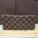 (SOLD OUT)LOUIS VUITTON damier brazza wallet bleu