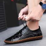 พรีออเดอร์ รองเท้า เบอร์ 38- 47 แฟชั่นเกาหลีสำหรับผู้ชายไซส์ใหญ่ เก๋ เท่ห์ - Preorder Large Size Men Korean Hitz Sandal