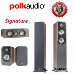 Polk Audio Signature S50 + S15 + S30 Walnut