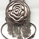 Aristotle Rose Bag FRINGIE สี black metal