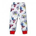 กางเกง สีขาว-ฟ้า ลาย Spiderman 6T