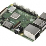 Raspberry Pi 3 Model B+ RS Built-in Broadcom 1.4GHz quad-core 64 bit processor