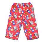 กางเกง สีแดง ลาย Batman & Joker 3T