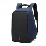 Back pack(กระเป๋าเป้ สะพายหลัง) BA064 น้ำเงิน พร้อมส่ง