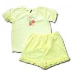 ชุดเด็ก สีเหลือง ลาย Sweet Dreams 2T
