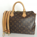 (SOLDOUT)LOUIS VUITTON monogram speedy bandouliere 30