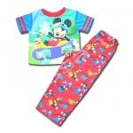 ชุดเด็ก สีเขียว-แดง ลาย Mickey Mouse 4T