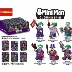 เลโก้จีน Decool.0289-0294 ชุด Joker Mini Man Clown Series