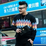 พรีออเดอร์ เสื้อกันหนาว แฟชั่นเกาหลีสำหรับผู้ชายไซส์ใหญ่ อกใหญ่สุด 56.69 นิ้ว แขนยาว เก๋ เท่ห์ - Preorder Large Size Men Korean Hitz Long-sleeved Jacket