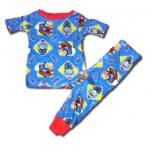 ชุดนอน สีน้ำเงิน ลาย Thomas Peep! Peep! 2T
