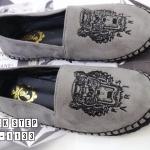รองเท้าผ้าใบแฟชั่น ทรง slip on แต่งลายปักเสือสไตล์เคนโซ่ kenzo ขอบพื้นแต่งเชือกถัก ใส่สบาย แมทสวยได้ทุกชุด (319-1133)