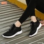 รองเท้าผ้าใบแฟชั่น สไตล์เกาหลี วัสดุอย่างดี ทรงสวย ใส่สบาย ใส่เที่ยว ออกกำลังกาย แมทสวยเท่ห์ได้ทุกชุด (HD005)