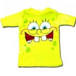 เสื้อ สีเหลือง ลาย Spongebob 18M