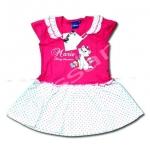 ชุดกระโปรง สีชมพู-ขาว ลาย Marie Dainty Sweetheart 4T