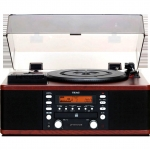 TEAC LP-R550USB Turntable, CD, USB, Cassette Tape, Radio FM AM Player Recorder