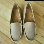 รองเท้าคัทชู ส้นแบน เรียบเก๋ ทรง loafer หนัง PU อย่างดีนิ่ม พื้นบุนิ่ม ทรงสวย ใส่สบาย พื้นยางอย่างดี แมทเก๋ได้ทุกชุด