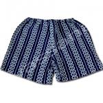 กางเกงจิมเบอิ สีน้ำเงิน ลายโซ่