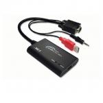 ชุดสายแปลงสัญญาณ VGA+Audio to HDMI (Z-TEK ZE577 ADAPTOR)
