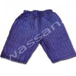กางเกงจิมเบอิ สีน้ำเงิน-เทา ลายทาง S110