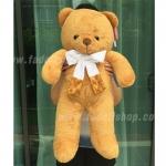 ตุ๊กตาหมีโบว์ใหญ่ Light Brown 25 นิ้ว