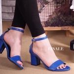 รองเท้าแฟชั่น แบบสวม รัดข้อ ZARA style ทรง Classic สวยดูดี ใส่แมทได้ง่าย ไม่มี Out หนังนิ่มอย่างดี เก็บทรงหุ้มเท้า ใส่สบาย สายรัดปรับกระชับเท้าได้ ส้น หนา ใส่สบายๆ พื้นนิ่มอย่างดี แมทได้ทุกชุด สีดำ ครีม เทา ขาว น้ำเงิน แดง สูง 2.5 นิ้ว (FHT 002)