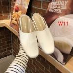 รองเท้าคัทชู เปิดส้น หนังเงาสวยเรียบเก๋สไตล์ซีลีน หนังนิ่ม ทรงสวย เก็บหน้าเท้าใส่สบาย แมทสวยได้ทุกชุด