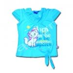 เสื้อ สีฟ้า ลาย Marie Born To Be 6T