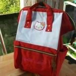 กระเป๋าเป้แฟชั่น สไตล์ Anello คิตตี้ ไซส์ 16 นิ้ว ใส่ A4ได้ ใส่โน้ตบุคก์ได้ สวยน่ารัก
