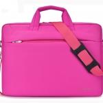 Classic notebook bag double shockproof กันกระแทก 2 ชั้น (สีชมพู)