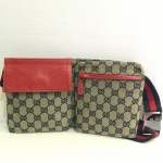 (SOLDOUT)GUCCI belt bag red