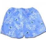 กางเกงจิมเบอิ สีฟ้า ลายปู