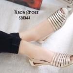 รองเท้าคัทชู ส้นเตี้ย สวยเก๋ ดีไซน์หนังเส้นมีสไตล์ เก็บทรงเท้า แบบนำเข้า ใส่ชิวๆ คล่องตัว แมทเก๋ได้ทุกชุด สีเบส เทา ทอง น้ำตาล