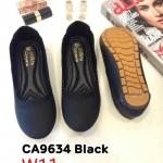 รองเท้าคัทชู ส้นแบน ทรงหัวมัน แต่งขอบสวยเรียบเก๋น่ารัก ทรงสวย หนังนิ่ม พื้นนิ่ม ใส่สบาย แมทสวยได้ทุกชุด (CA9634)