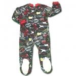 ชุดบอดี้สูทถุงเท้า สีดำ ลายกีต้าร์ ยี่ห้อ Joe Boxer 4T