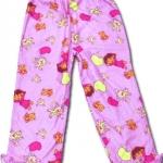 กางเกง สีม่วง ลาย Dora กับตุ๊กตาหมี 4T